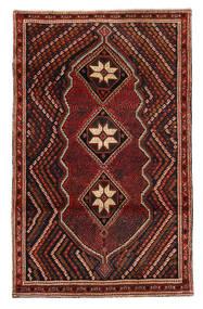 Afshar/Sirjan Matto 118X188 Itämainen Käsinsolmittu Tummanpunainen/Tummanruskea (Villa, Persia/Iran)