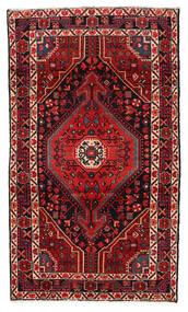 Hamadan Matto 115X199 Itämainen Käsinsolmittu Tummanpunainen/Tummanruskea (Villa, Persia/Iran)
