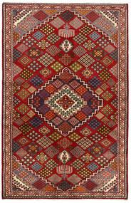 Nahavand Matto 135X212 Itämainen Käsinsolmittu Tummanpunainen/Tummanharmaa (Villa, Persia/Iran)