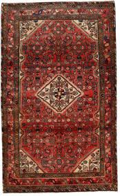 Mehraban Matto 117X210 Itämainen Käsinsolmittu Tummanpunainen/Tummanruskea (Villa, Persia/Iran)