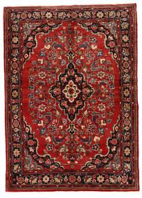 Mehraban Matto 149X208 Itämainen Käsinsolmittu Tummanpunainen/Tummanruskea (Villa, Persia/Iran)