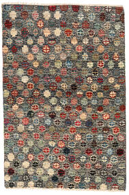 Moroccan Berber - Afghanistan Matto 116X177 Moderni Käsinsolmittu Tummanharmaa/Musta (Villa, Afganistan)