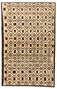 Moroccan Berber - Afghanistan Matto 110X173 Moderni Käsinsolmittu Beige/Tummanruskea/Tummanbeige (Villa, Afganistan)