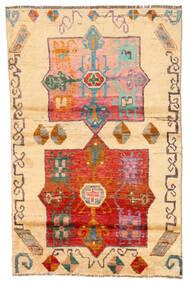 Moroccan Berber - Afghanistan Matto 116X180 Moderni Käsinsolmittu Vaaleanruskea/Beige (Villa, Afganistan)