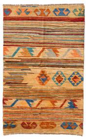 Moroccan Berber - Afghanistan Matto 116X181 Moderni Käsinsolmittu Vaaleanruskea/Keltainen (Villa, Afganistan)