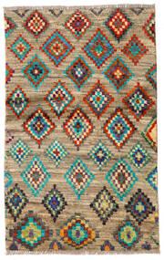 Moroccan Berber - Afghanistan Matto 85X136 Moderni Käsinsolmittu Tummanharmaa/Tummanbeige (Villa, Afganistan)