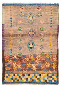 Moroccan Berber - Afghanistan Matto 88X127 Moderni Käsinsolmittu Vaaleanruskea/Vaaleanpunainen (Villa, Afganistan)