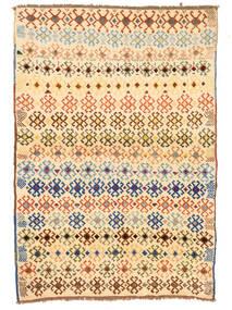 Moroccan Berber - Afghanistan Matto 100X145 Moderni Käsinsolmittu Käytävämatto Tummanbeige/Beige (Villa, Afganistan)