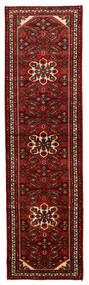 Hosseinabad Matto 84X297 Itämainen Käsinsolmittu Käytävämatto Tummanpunainen (Villa, Persia/Iran)