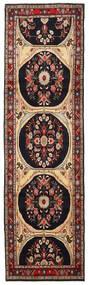 Mehraban Matto 85X292 Itämainen Käsinsolmittu Käytävämatto Tummanruskea/Vaaleanruskea (Villa, Persia/Iran)