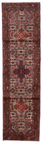 Hamadan Matto 80X290 Itämainen Käsinsolmittu Käytävämatto Tummanpunainen/Tummanruskea (Villa, Persia/Iran)