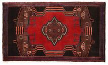 Senneh Matto 52X92 Itämainen Käsinsolmittu Tummanruskea/Tummanpunainen (Villa, Persia/Iran)