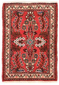 Lillian Matto 48X68 Itämainen Käsinsolmittu Tummanpunainen/Tummanruskea (Villa, Persia/Iran)