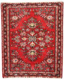 Sarough Matto 65X80 Itämainen Käsinsolmittu Ruoste/Tummanruskea (Villa, Persia/Iran)