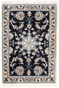 Nain Matto 62X88 Itämainen Käsinsolmittu Tummanharmaa/Beige/Vaaleanharmaa (Villa, Persia/Iran)