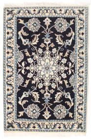 Nain Matto 58X88 Itämainen Käsinsolmittu Beige/Vaaleanharmaa/Musta (Villa, Persia/Iran)