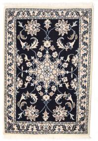 Nain Matto 56X83 Itämainen Käsinsolmittu Vaaleanharmaa/Musta/Beige (Villa, Persia/Iran)