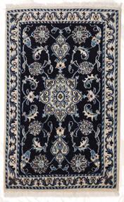 Nain Matto 60X95 Itämainen Käsinsolmittu Tummanvioletti/Vaaleanharmaa (Villa, Persia/Iran)