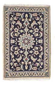 Nain Matto 61X94 Itämainen Käsinsolmittu Beige/Tummanvioletti (Villa, Persia/Iran)