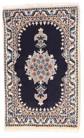 Nain Matto 56X90 Itämainen Käsinsolmittu Tummanvioletti/Vaaleanharmaa (Villa, Persia/Iran)