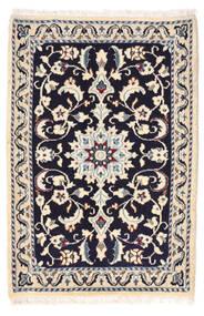Nain Matto 62X92 Itämainen Käsinsolmittu Beige/Tummanvioletti (Villa, Persia/Iran)