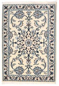 Nain Matto 61X88 Itämainen Käsinsolmittu Beige/Sininen (Villa, Persia/Iran)