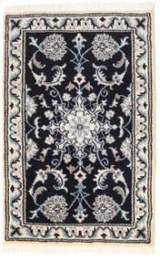 Nain Matto 56X87 Itämainen Käsinsolmittu Tummanharmaa/Vaaleanharmaa (Villa, Persia/Iran)