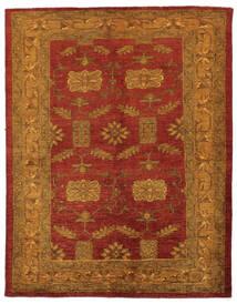 Oriental Overdyed Matto 144X183 Moderni Käsinsolmittu Tummanruskea/Tummanpunainen/Beige (Villa, Persia/Iran)
