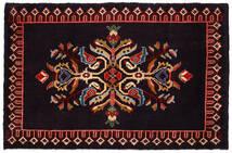 Keshan Matto 61X95 Itämainen Käsinsolmittu Tummanpunainen (Villa, Persia/Iran)
