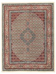 Moud Matto 150X198 Itämainen Käsinsolmittu Vaaleanharmaa/Vaaleanruskea (Villa/Silkki, Persia/Iran)