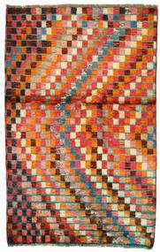 Moroccan Berber - Afghanistan Matto 86X134 Moderni Käsinsolmittu Punainen/Oranssi (Villa, Afganistan)