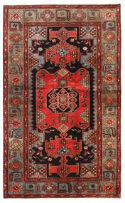Hamadan Matto 128X209 Itämainen Käsinsolmittu Tummanruskea/Ruoste (Villa, Persia/Iran)