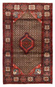 Koliai Matto 135X201 Itämainen Käsinsolmittu Tummanpunainen/Tummanruskea (Villa, Persia/Iran)