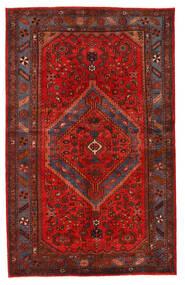 Hamadan Matto 139X221 Itämainen Käsinsolmittu Tummanpunainen/Ruoste (Villa, Persia/Iran)
