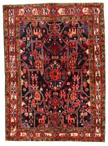 Koliai Matto 155X214 Itämainen Käsinsolmittu Tummanruskea/Tummanpunainen (Villa, Persia/Iran)