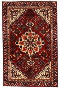 Bakhtiar Matto 125X195 Itämainen Käsinsolmittu Tummanruskea/Tummanpunainen (Villa, Persia/Iran)