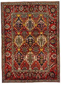 Bakhtiar Matto 152X211 Itämainen Käsinsolmittu Tummanruskea/Tummanpunainen (Villa, Persia/Iran)