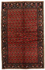 Koliai Matto 142X224 Itämainen Käsinsolmittu Tummanruskea/Tummanpunainen (Villa, Persia/Iran)