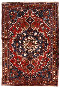 Bakhtiar Matto 142X208 Itämainen Käsinsolmittu Tummansininen/Tummanpunainen/Ruoste (Villa, Persia/Iran)