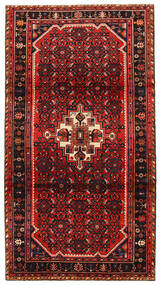 Koliai Matto 119X220 Itämainen Käsinsolmittu Tummanpunainen/Ruoste (Villa, Persia/Iran)