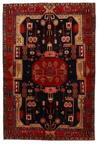 Koliai Matto 147X218 Itämainen Käsinsolmittu Tummanruskea/Tummanpunainen (Villa, Persia/Iran)