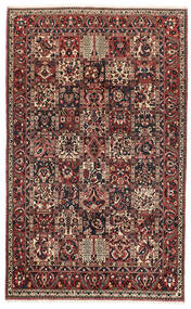Bakhtiar Matto 162X260 Itämainen Käsinsolmittu Tummanpunainen/Musta (Villa, Persia/Iran)