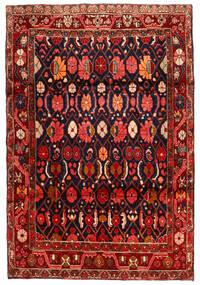 Koliai Matto 134X198 Itämainen Käsinsolmittu Tummanpunainen/Musta (Villa, Persia/Iran)