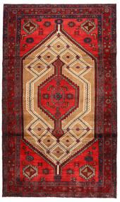 Koliai Matto 113X203 Itämainen Käsinsolmittu Tummanpunainen/Tummanruskea (Villa, Persia/Iran)