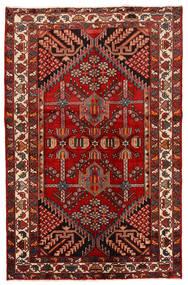 Rudbar Matto 130X200 Itämainen Käsinsolmittu Tummanpunainen/Ruoste (Villa, Persia/Iran)