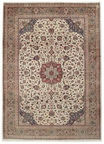 Sarough Matto 261X364 Itämainen Käsinsolmittu Vaaleanharmaa/Vaaleanruskea Isot (Villa, Persia/Iran)