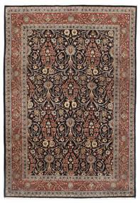 Sarough Matto 251X353 Itämainen Käsinsolmittu Vaaleanharmaa/Vaaleanruskea Isot (Villa, Persia/Iran)