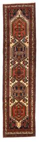 Ardebil Matto 71X295 Itämainen Käsinsolmittu Käytävämatto Tummanpunainen/Tummanruskea (Villa, Persia/Iran)