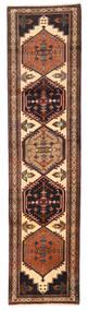 Ardebil Matto 69X280 Itämainen Käsinsolmittu Käytävämatto Tummanruskea/Musta (Villa, Persia/Iran)