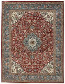 Sarough Sherkat Farsh Matto 250X325 Itämainen Käsinsolmittu Vaaleanharmaa/Tummanharmaa Isot (Villa, Persia/Iran)